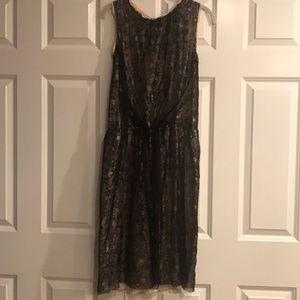 Dolce & Gabbana Black Sleeveless Lace Dress